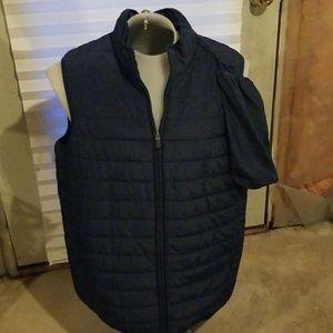 Blue chaps vest
